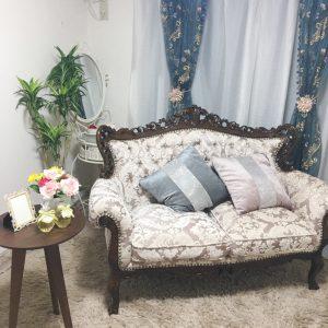 気分は、プリンセス♡豪華撮影部屋完備の「横浜人妻花壇本店」様の待機場